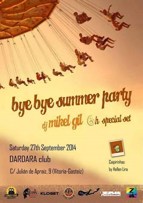 ra bye bye summer party at dardara club north 2014