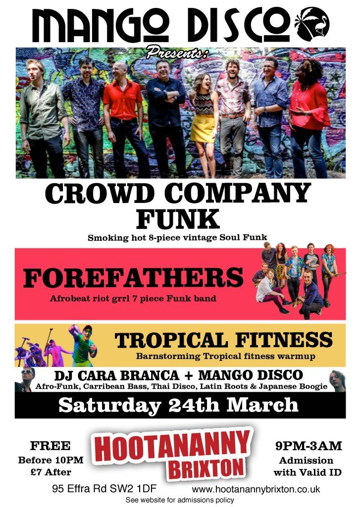 ra mango disco brings the tropical funk carnival at hootananny