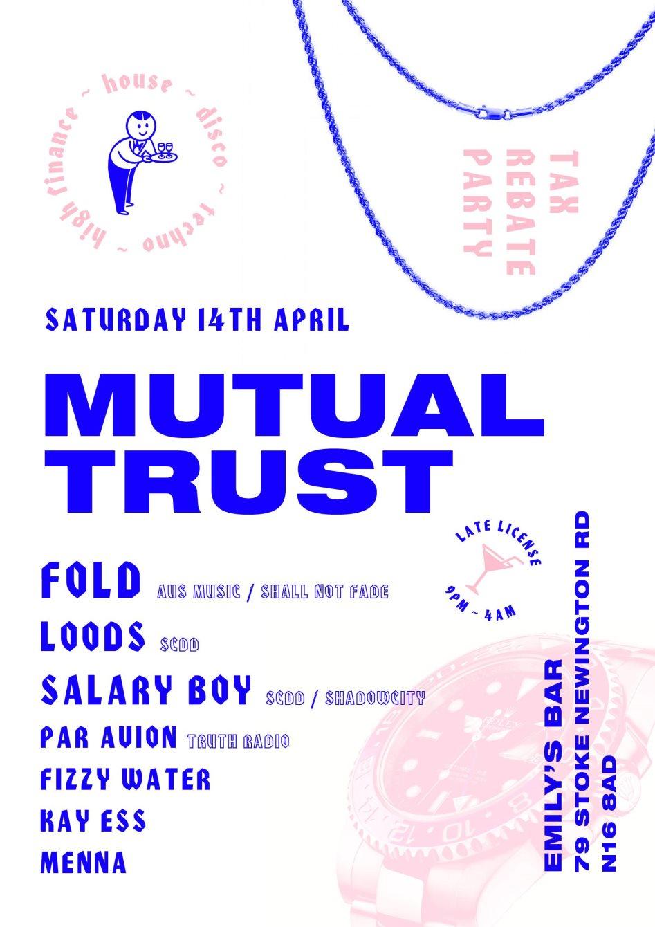 ra mutual trust 3 fold loods salary boy at emily s bar london