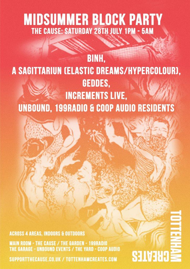 ra the cause 199radio unbound coop audio midsummer block party