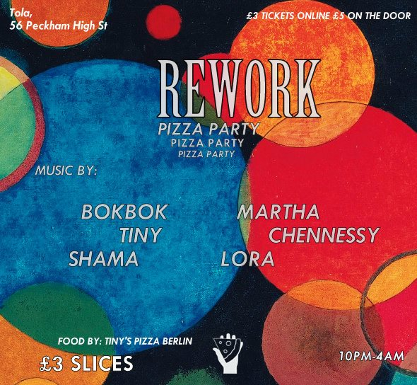 ra rework pizza party at tola london