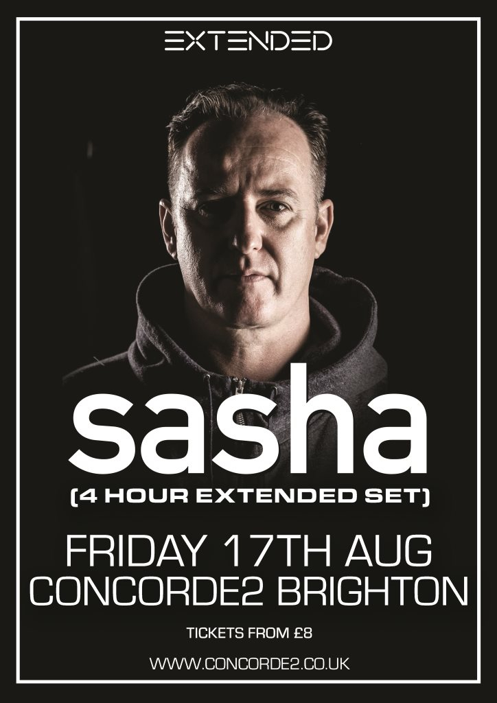 ra sasha 4 hour extended set at concorde 2 south east