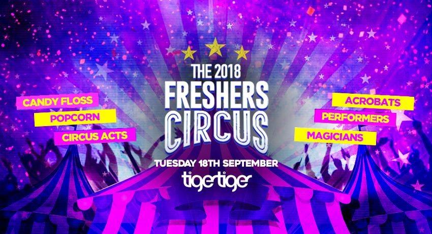 ra the 2018 freshers circus at tiger tiger london london
