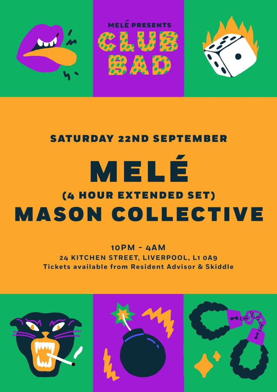 ra club bad melé extended set mason collective at 24 kitchen