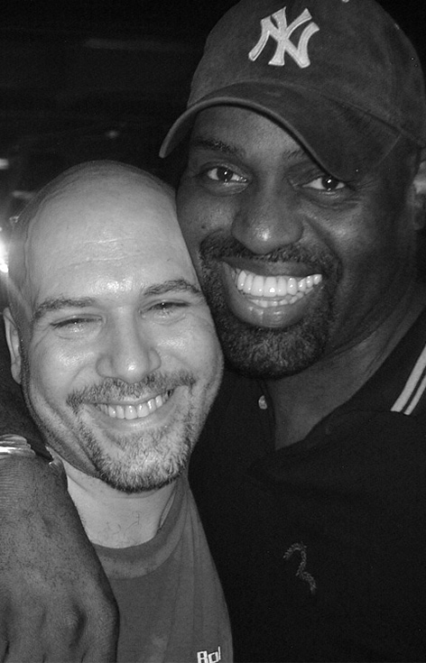 Danny Krivit and Frankie Knuckles
