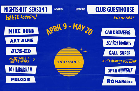 RA News: Nightshift takes over Club Guesthouse for April and May