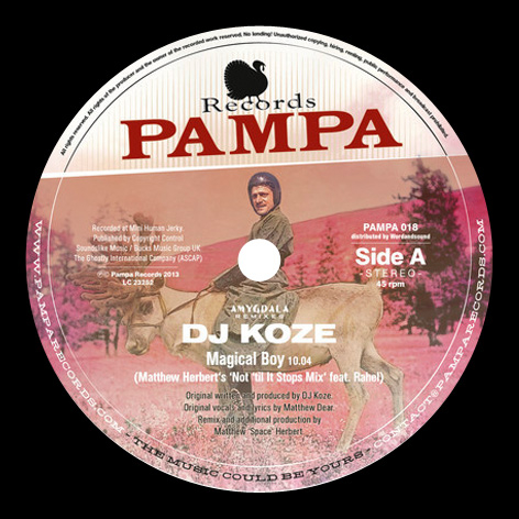 DJ Koze - Amygdala Remixes