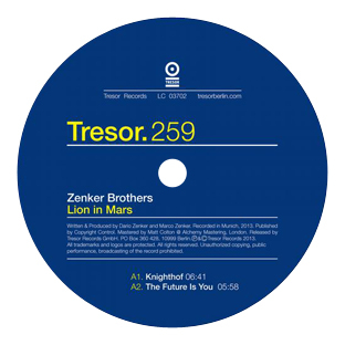 Zenker Brothers - Lion In Mars