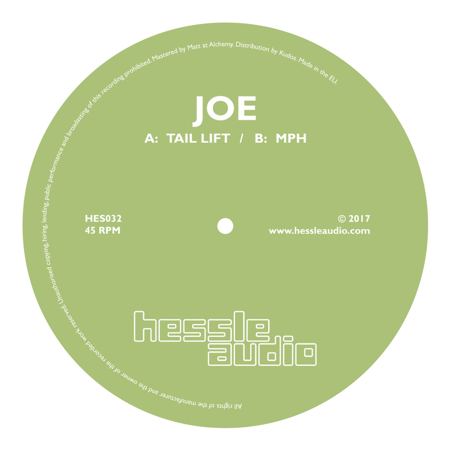 Joe - Tail Lift